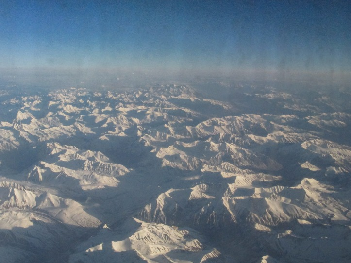 View from the flight to Leh