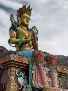 Buddha statue at Diskit