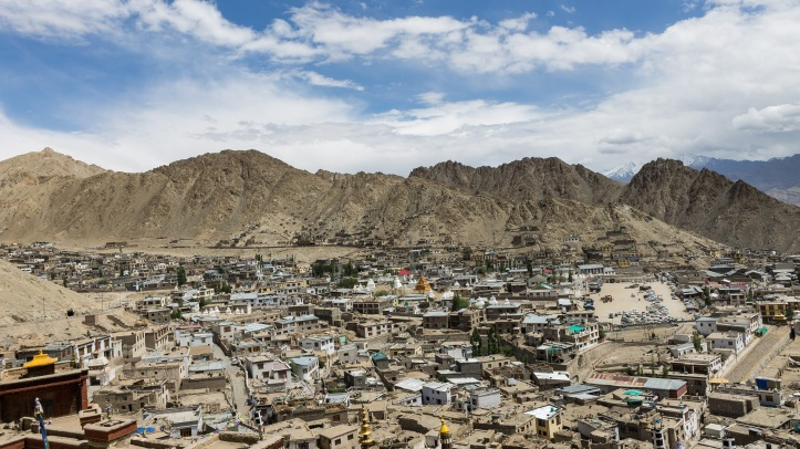 View of Leh city