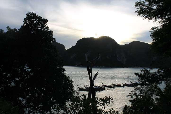 Sunset at Phi Phi Don