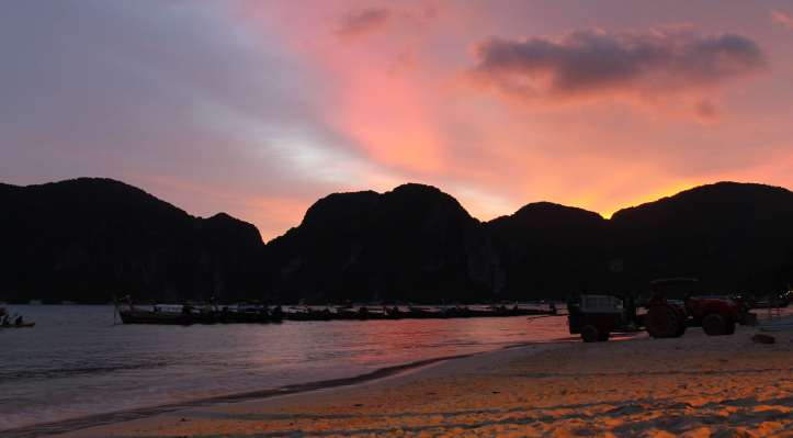 Sunset at Phi Phi Don