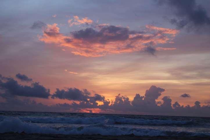 Sunset at Kata Noi beach