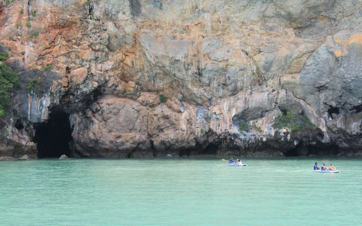Cave at Panak Island